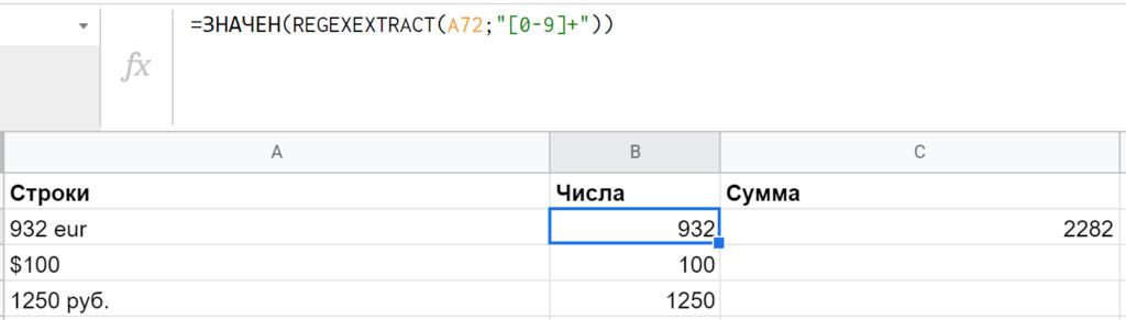 25+ функций Google Таблиц для работы с текстом